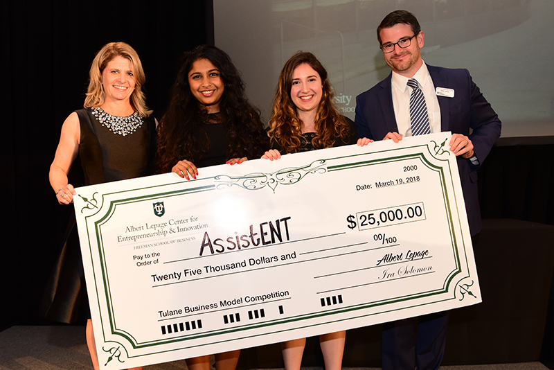 Medical device developer earns top prize in business model competition